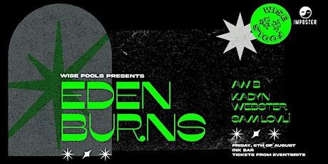 Eden Burns I Auckland - Ink Bar tickets