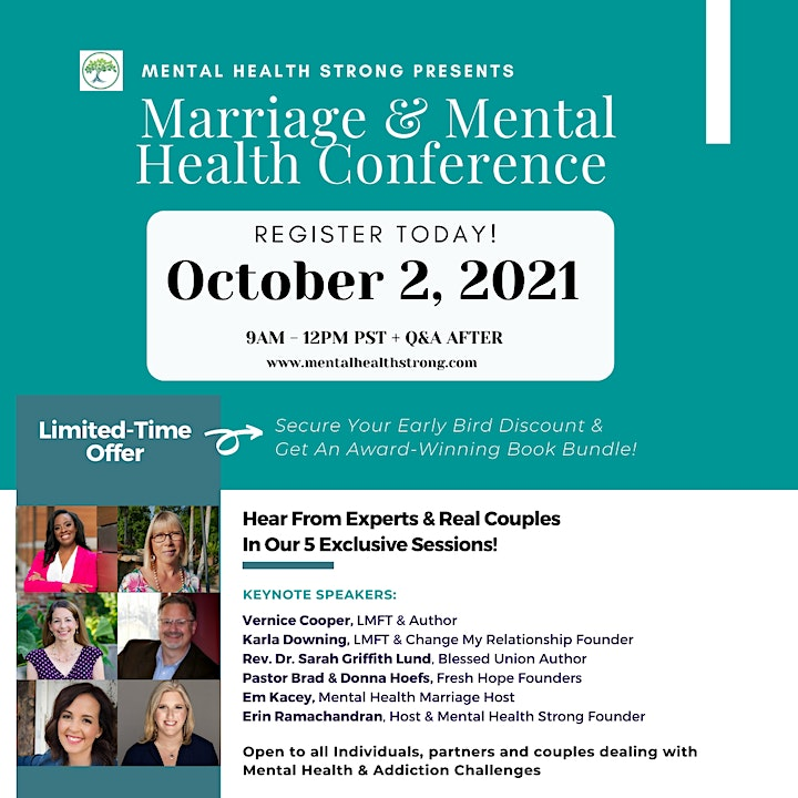 Marriage and Mental Health Virtual Conference image