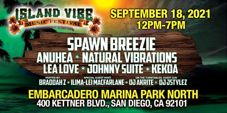 Island Vibe Music Festival 2021 tickets