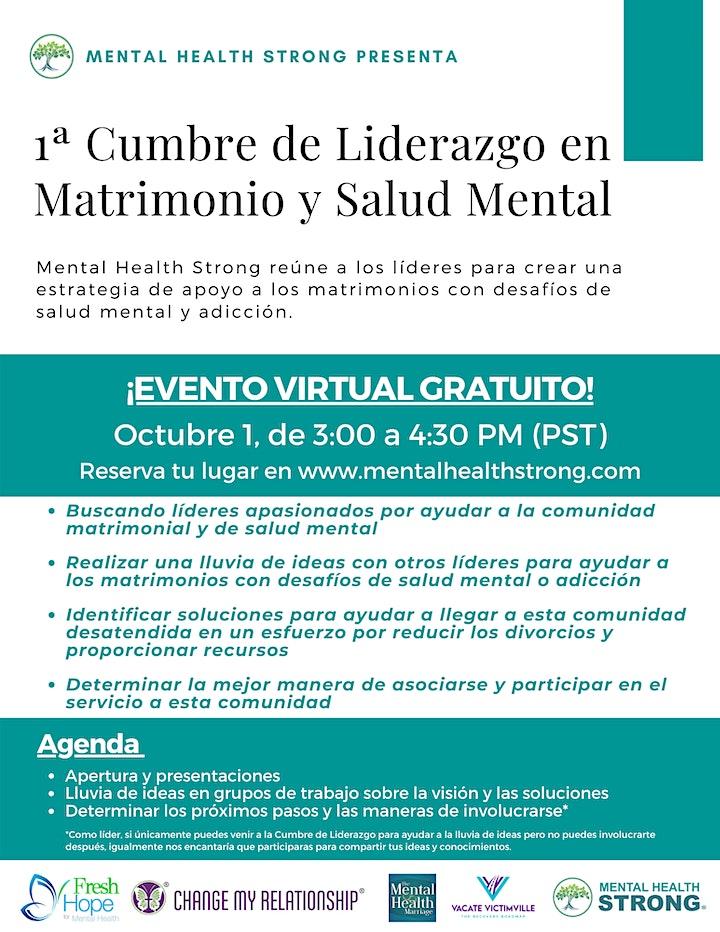 1st Marriage and Mental Health Leadership Summit image