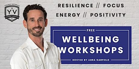 YVSS Wellbeing Workshops With Abra Garfield tickets