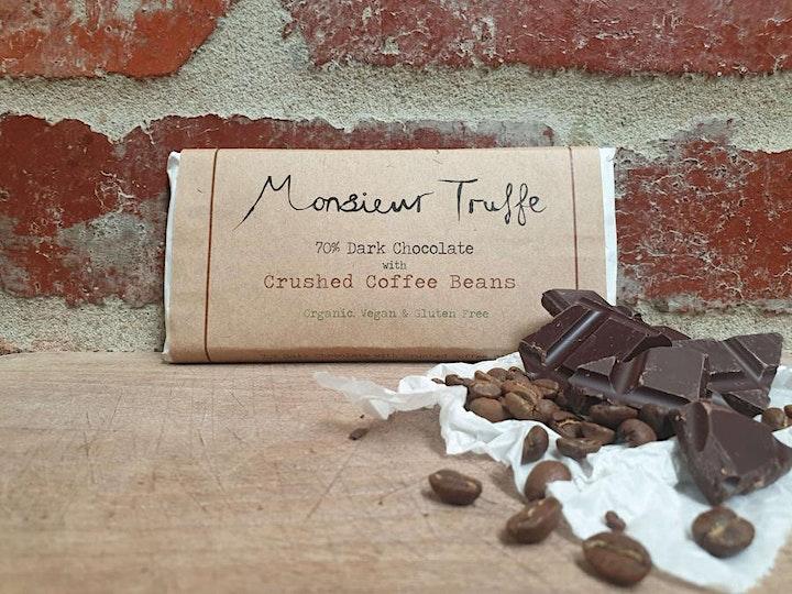 Chocolate tasting session: Coffee image