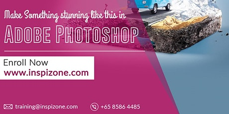 Improve Your Design Skills with Adobe Photoshop Course Singapore tickets