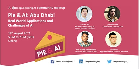 Pie & AI: Abu Dhabi - Real World Application and Challenges of AI tickets