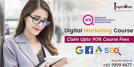 ICDL Approved Digital Marketing Course in Singapore - 90% WSQ Claimable tickets