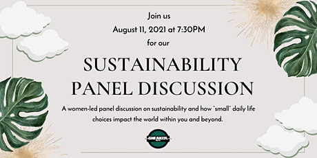 Sustainability Panel Discussion tickets