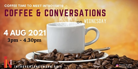 INA Coffee & Conversations (Online) - August 2021 tickets
