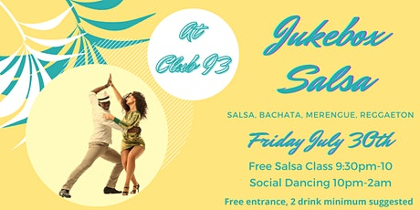 Jukebox Salsa tickets