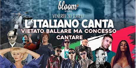 L'ITALIANO CANTA - Vietato ballare ma concesso Cantare biglietti