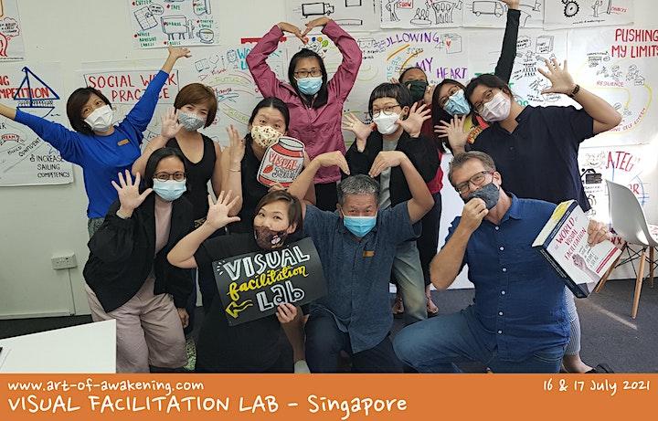 Art of Awakening Visual Facilitation Lab - Singapore Nov 2021 image