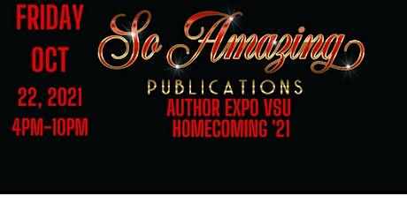 So Amazing Publications Author Expo VSU Homecoming 2021 tickets