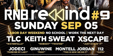 Keith Sweat, TLC, Xscape, Jodeci, Ginuwine & more tickets