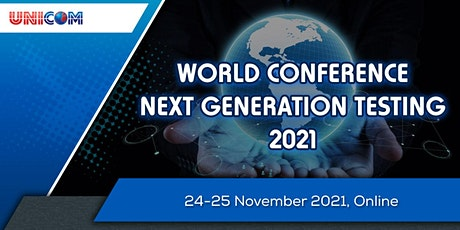 World Conference Next Generation Testing 2021 tickets