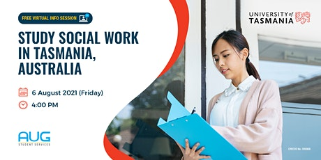 Study Social Work with the University of Tasmania! tickets
