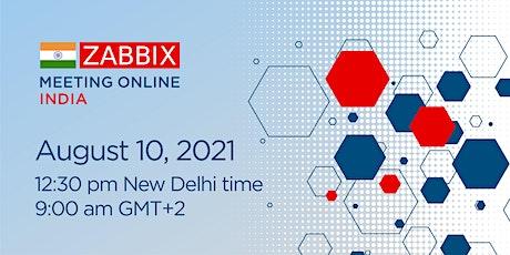 Zabbix Meeting Online - INDIA biglietti