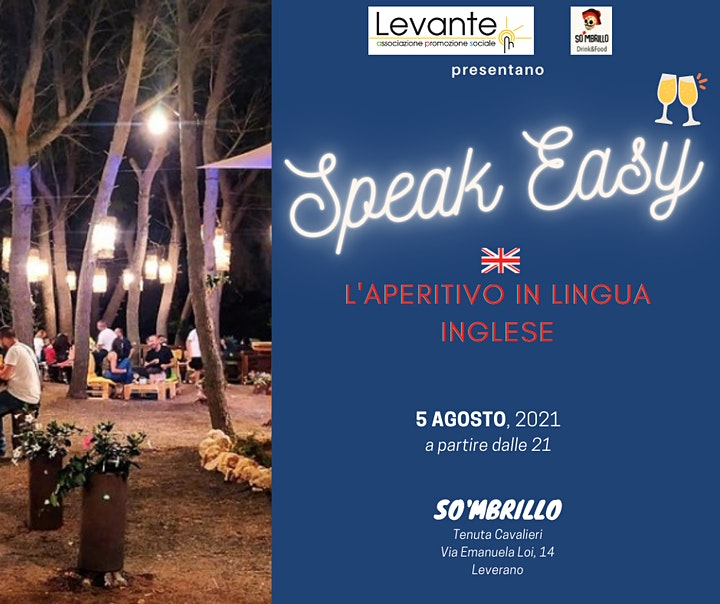 Immagine Speak Easy - L'aperitivo in Lingua Inglese