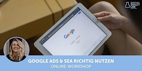 Werde gefunden! - Google Ads & SEA richtig nutzen Tickets
