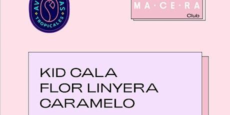 Kid Cala y Flor Linyera  tienen una Aventura entradas