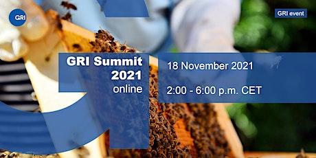GRI Summit 2021 tickets