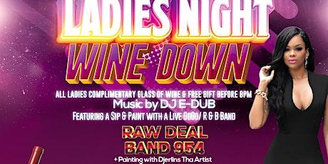 LADIES NIGHT WINE DOWN SIP & PAINT tickets