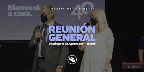 Reunión general - 15/08/21 - 10:00h entradas