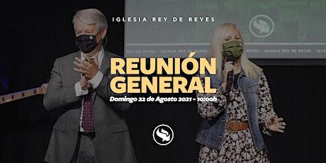 Reunión general - 22/08/21 - 10:00h entradas