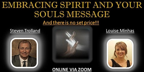 Embracing Spirit & Your Souls Message tickets