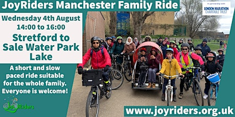 Family Ride Stretford to Sale Water Park Lake tickets