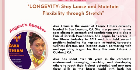 LONGEVITY: Stay Loose and Maintain Flexibility through Stretch tickets