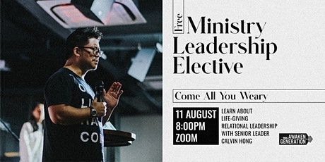 Public Elective: MINISTRY LEADERSHIP Tickets
