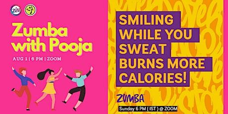 Zumba with Pooja tickets