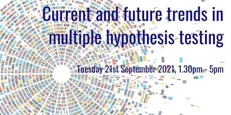 Workshop on current and future trends in multiple hypothesis testing tickets