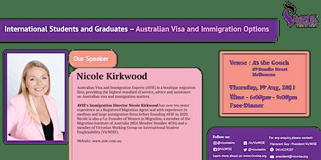Australian Visa and Immigration Options-International Students tickets