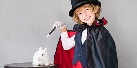 Corso di magia per bambini biglietti
