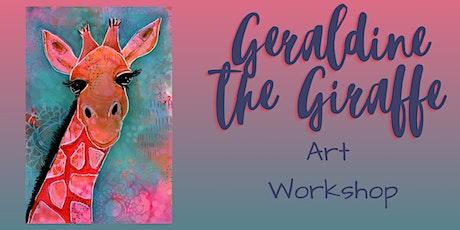Geraldine the Giraffe Art Workshop tickets