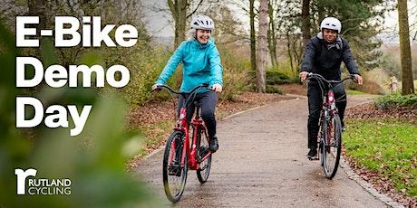 Electric Bike Demo Day - Rutland Cycling, Grafham Water tickets