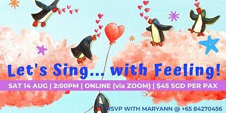 Online Workshop: Let's Sing... with Feeling! tickets