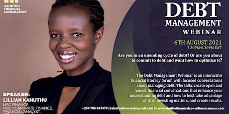 The Debt Management Webinar tickets