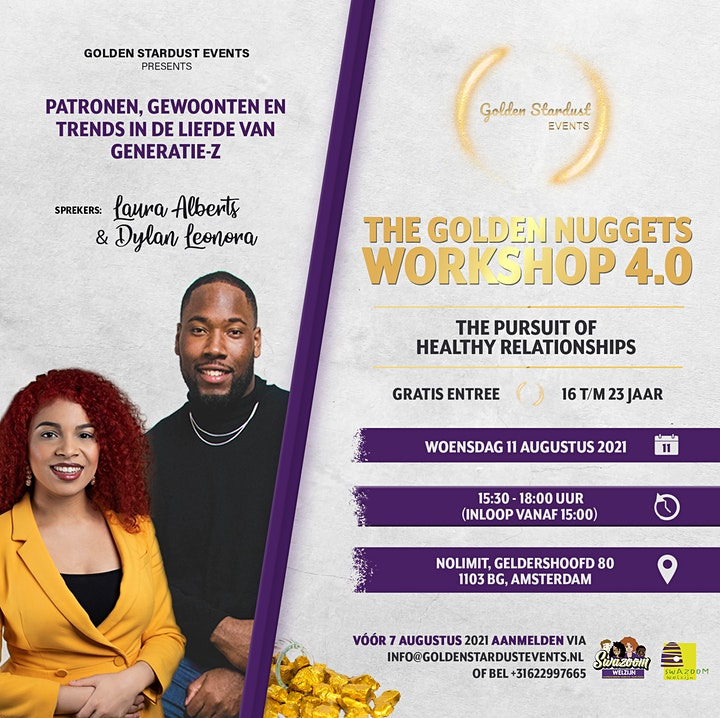 Afbeelding van The Golden Nuggets Workshop 4.0: The Pursuit of Healthy Relationships