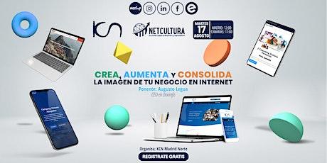 Crea, aumenta y consolida la imagen de tu negocio en Internet 17Ago boletos