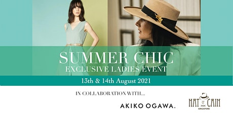 Summer Chic Exclusive Ladies Session 2021 tickets