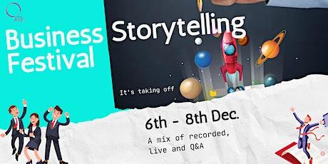 Business Storytelling Festival tickets