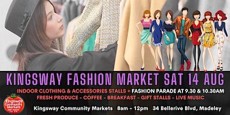 Clothing Market at Kingsway Community Markets - FASHION PARADE 9.30AM tickets