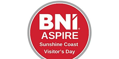 BNI Aspire Visitor's Day tickets