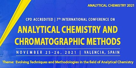 CPD Accredited | 7th International Conference on Analytical Chemistry and C tickets