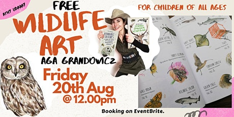 Wildlife Art with Aga Grandowiscz and Athy Library (For Heritage Week) tickets