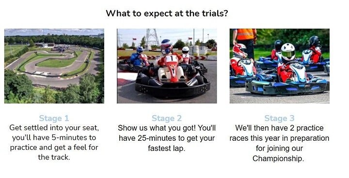 Go Karting Time Trial Event - All Abilities Welcome image