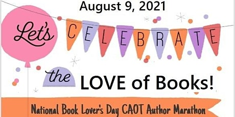 2021 National Book Lover's Day CAOT Author Marathon tickets