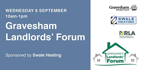 Gravesham's Private Sector Landlords' Forum (sponsored by Swale Heating) tickets