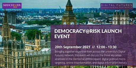 Democracy@Risk Launch Event tickets